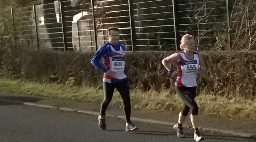 2014 Wesham 10k Paul Brannigan Mandy Goth
