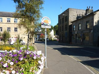 APPROACHING TODMORDEN CENTRE