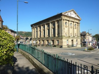 PASSING TODMORDEN'S ICONIC TOWN HALL